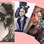 Платок всему голова или как носить шарф / платок: часть 1
