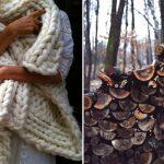 Уютный week-end или hello теплый шарф