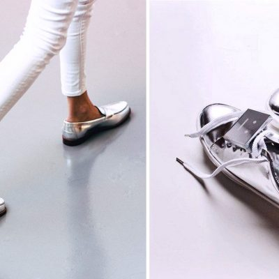 серебристые ботинки как носить