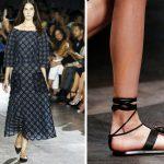 обувь тренды весна 2016 без каблука