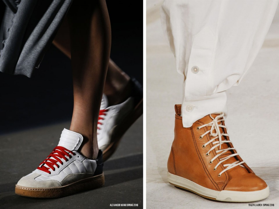 обувь тренды весна 2016