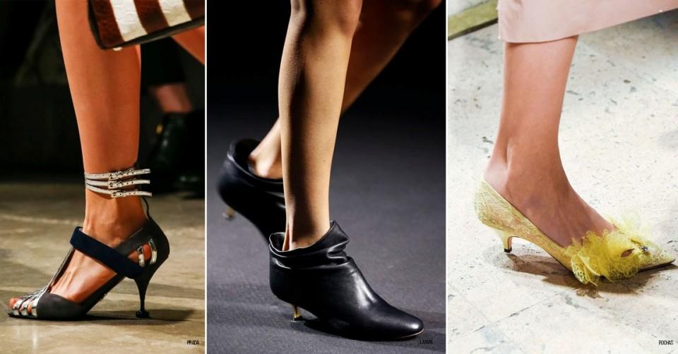 модная обувь сезон весна 2016