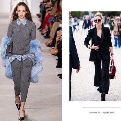 Азбука гардероба: укороченные брюки