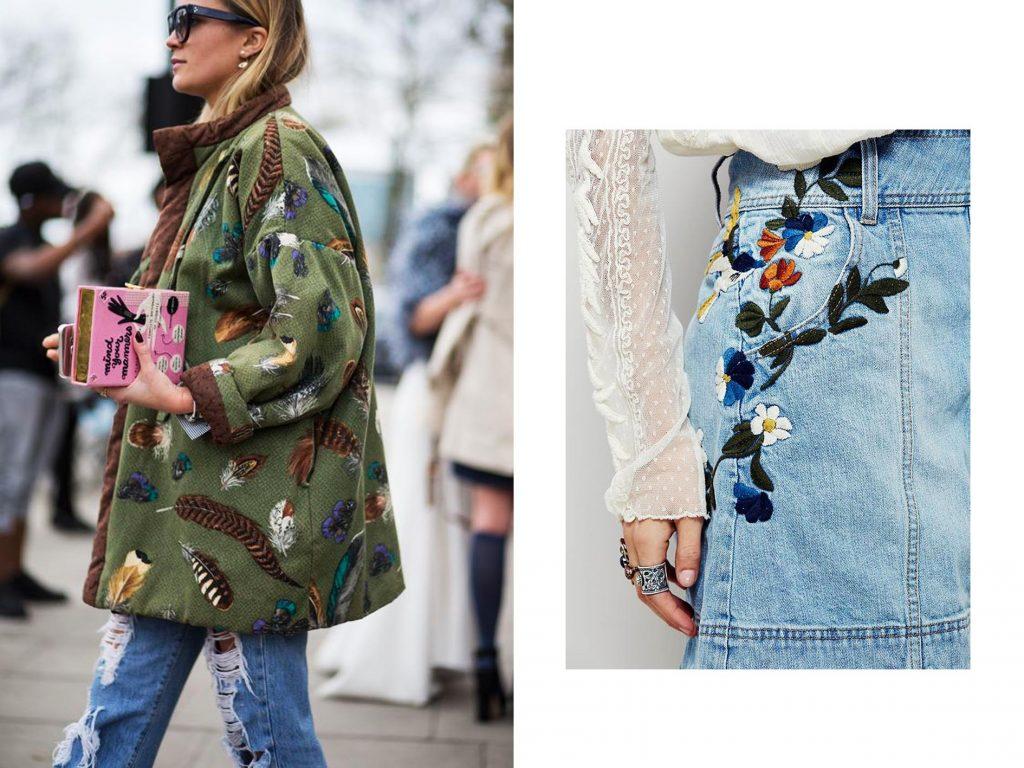 Модная тенденция в вышивке