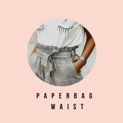 Что такое paperbag waist?